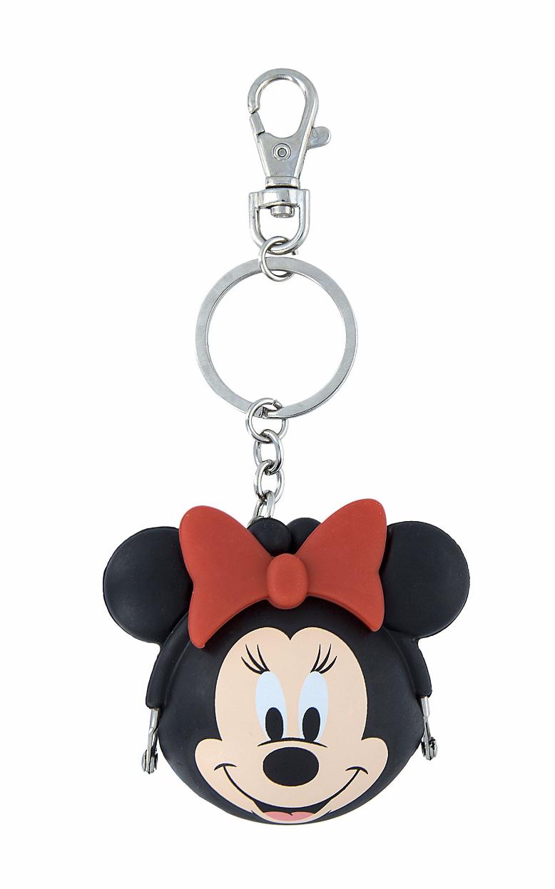 Disney Parks Minnie Mouse Tiny Coin Purse Keychain Purse Hanger NEW - $19.90