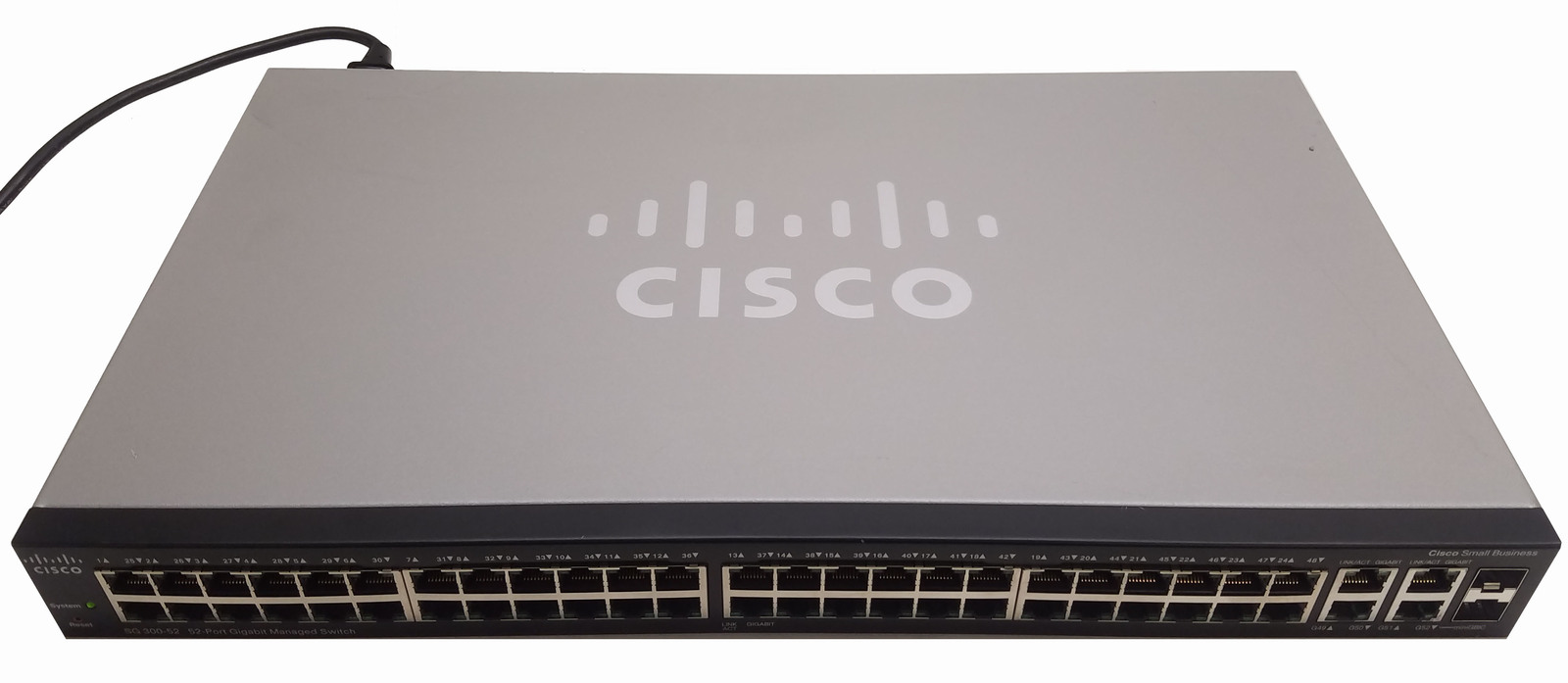 Cisco SG300-52 Small Business 52 Port Gigabit Managed Switch Bin:1