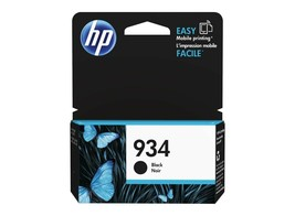 HP C2P19AN OEM 934 Black Ink Cartridge  For 6812 6815 6820 With Yield 400 - $35.59
