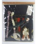 1996 Stitchin' Stuff By Joan Thomasson Christmas Elegant Santa Cross Stitch - $49.50