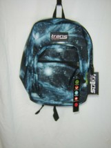 TRANS KIDS BACKPACK BY JANSPORT SUPERMAX MULTIBLUECOSMOS NWT :B19-5 - $27.75