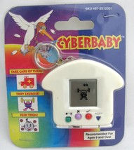 CyberBaby Keychain Electronic Handheld Virtual Pet Game Keychain vtg Tam... - $21.78