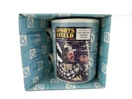 SPORTS AFIELD  Gibson Coffee Mug March 1952 Magazine Cover Latest Fishin... - $14.80