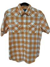 Polo By Ralph Lauren youth boys shirt short sleeve plaid size L (14-16) - $22.44