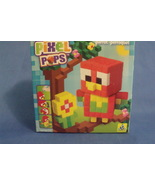 Toys NIB Orb Factory Pixel Pops Red Parrot - $8.95