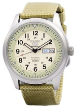 Seiko 5 Military Automatic Sports Japan Made Snzg07 Snzg07j1 Snzg07j Men... - $166.50