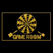 130044B Game Room Billiards Dartboard Internet Aggressive Display LED Light Sign - $18.00
