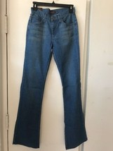 New James Jeans Hector 5 Pocket High Rise Teal Boot SZ 26$148 - $33.94