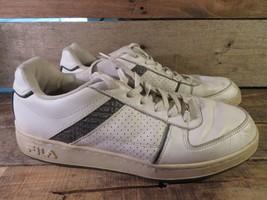 FILA Sport Mens' Shoe Size 11 FW04128-155 White Silver - $29.69