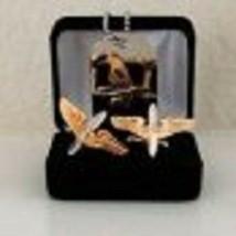 U.S. ARMY AIR CORPS AVIATION CADET Cuff Link Tie Clip Monry Clip Dog Tag... - $54.44