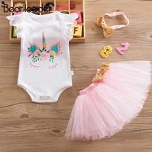 Bear Leader Baby Girl Clothing Sets New Summer Short Sleeve  Letter T sh... - $20.40