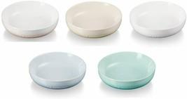 Le Creuset Sphere Dish Plate 18cm Pastel Rainbow 5 Color Set Stoneware J... - $189.46