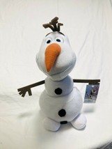 "NWT Disney Frozen 15"" Olaf Large Plush Soft Fabrics Stuffed Animal Child... - $16.78"