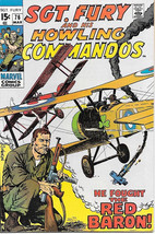 Sgt. Fury and His Howling Commandos Comic Book #76 Marvel 1970 VERY FINE - $17.34