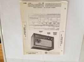 Vintage Photofact Folder Parts Manual - b1 - Sparton Models 350 - 351 - ... - $6.92