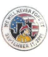 September 11 Memorial Floating Locket Charm - $2.42