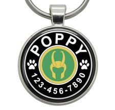 Pet ID Tag - Loki Helmet (Marvel) - Dog ID Tags, Cat ID Tags, Pet Tags, ... - $19.99