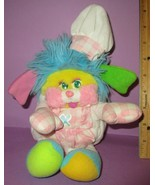 "Vintage Popples Mattel 12"" 1987 Yellow Costume Chef Cook TLC Plush Stuff... - $100.00"