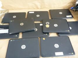 Lot of 10 HP Chromebooks Gen 3 / Gen 5 / Gen 2 mixed /  Needs OS Reinstall - $385.86