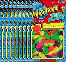 Ja-Ru Water Bomb with Filler Party Favor Bundle Pack (150-Pack) - £22.56 GBP