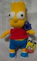 "Applause The Simpsons BART SIMPSON 8"" Plush STUFFED ANIMAL Toy NEW - $16.34"