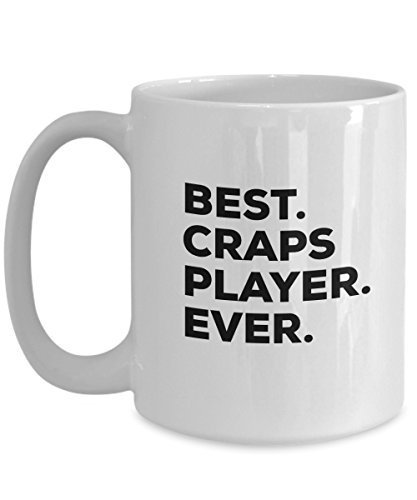 Crap Mug - Craps Gift - Gifts For Craps Players - Coffee Cup - Unique Gift Idea