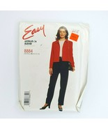 Easy Stitch N Save 8884 Mccall's Sewing Pattern Misses Top Pants Size 8-14 - $9.89