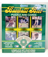 1989 Donruss Baseball's Best Puzzle And Cards Complete Set Griffey Jr Ne... - $109.99