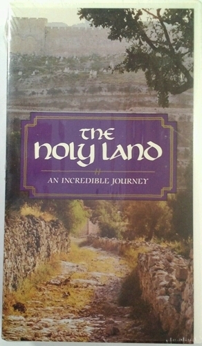 The holy land an incredible journey   vhs tape