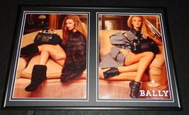 2011 Bally Switzerland Framed 12x18 ORIGINAL Advertising Display - $65.09