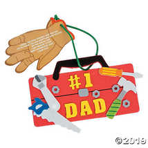 Dad Tool Chest Ornament Craft Foam Kit - $9.11