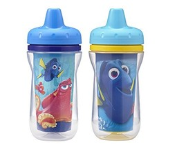 The First Years Insulated Sippy Cups, Finding Dory, 9 Ounce Pack of 2 - $14.24