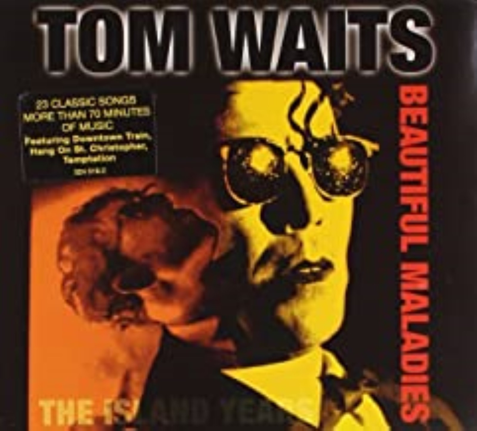Beautiful Maladies: The Island Years by Tom Waits Cd