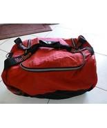 "Bag Marlboro Unlimited Duffel Duffle Gym Carry On Red Black 18-20"" GUC (C) - $29.24"