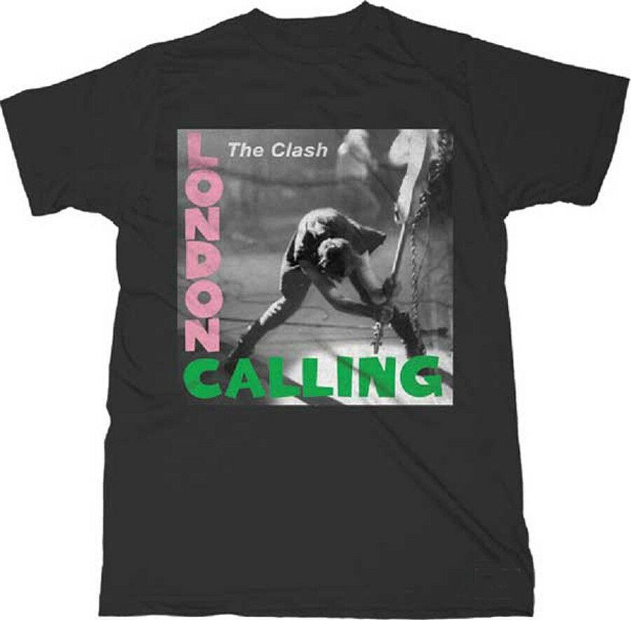The Clash-London Calling-XXL Black T-shirt
