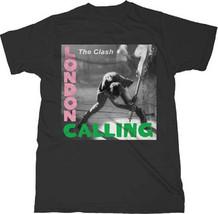 The Clash-London Calling-XXL Black T-shirt - $17.41