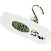 Miami CarryOn Digital Hanging Luggage Scale -  Travel Scale, 110 Pounds ... - $10.88
