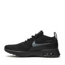 NIKE WOMEN'S AIR MAX THEA ULTRA FLYKNIT SHOES black grey 881175 004 MSRP - $96.13