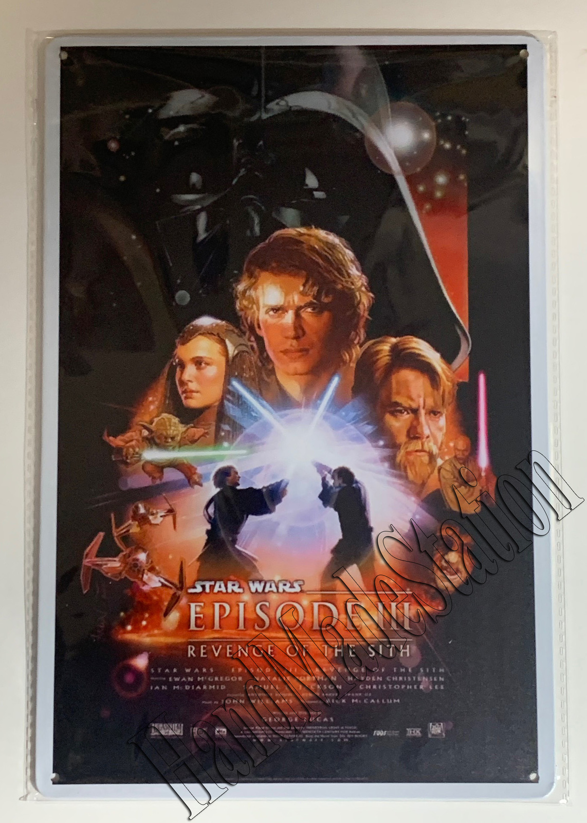 Star Wars Episode III Revenge of the Sith Wall Metal Sign plate Home decor 11.75