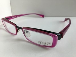New ALAIN MIKLI A0606-20 A 0606-20 51mm Violet Titane Titanium Eyeglasses Frame  - $530.99