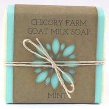 Goat Milk Soap MINT Chicory Farm Natural Handmade  Old-Fashioned Essenti... - $8.99