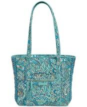 *NEW* Vera Bradley Daisy Dot Paisley Iconic Small Vera Tote Handbag #34 - £59.30 GBP