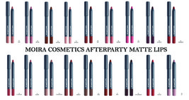 MOIRA COSMETICS AFTERPARTY MATTE LIPS - $7.00