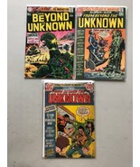 Lot of 3 From Beyond the Unknown (1969) #1(VF) 8 19 FN-VF Very Fine - $54.45