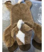 The Manhattan Toy Company Plush Stuffed Horse Pony Rug Western Nursery D... - $38.00
