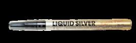 Deco Color Liquid Silver Opaque Extra Fine Tip Paint Marker