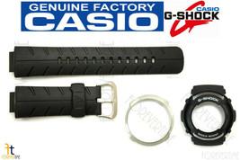 Casio G-300 G-SHOCK Original Black Band & Bezel (Outer & Inner Bezel) Combo Kit - $37.36