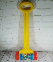1992 Model 2012 Classic Working Fisher Price Melody Push Pull Cylinder Chime Toy - $7.92