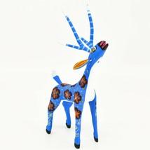 Handmade Alebrijes Oaxacan Copal Wood Carving Folk Art Deer Figurine