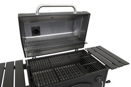 Barbecue Charcoal Grill Outdoor Movable Deluxe Cooking Experience Large ... - £95.66 GBP